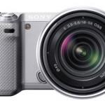 Sony NEX-5N Mirrorless camera in Silver