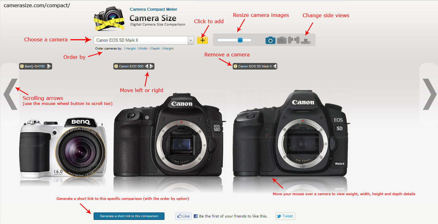Cameras for Sale Buy a Digital Camera from Cameta Camera Digital camera photo size