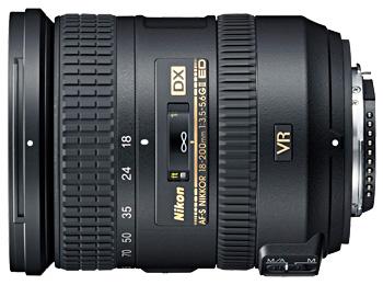 Nikon 18-200mm VR Nikkor lens