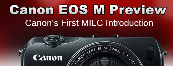 Canon EOS-M camera review banner