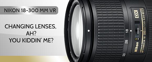 Nikon 18-300mm DX VR lens