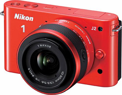 Nikon 1 J2, orange