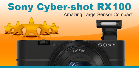 Sony Cyber-shot RX100 camera, 5 stars