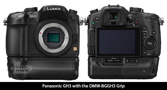 DMW-BGGH3 battery grip