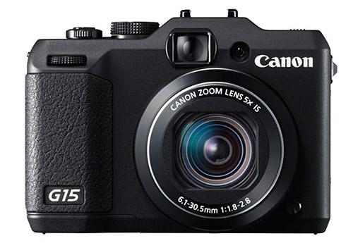 Canon PowerShot G15 camera