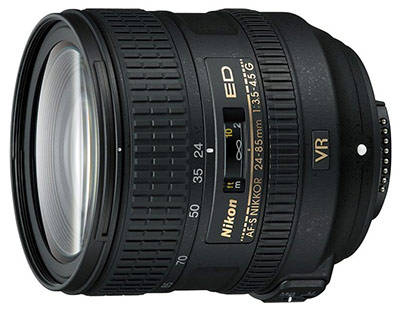 Nikon 24-85mm VR lens