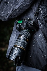 Pentax K-5 II wet in the rain