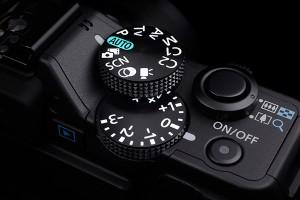 PowerShot G15 level dial