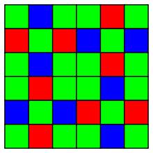 X-Trans color filter array