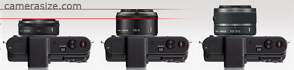 1 nikkor lens size comparison
