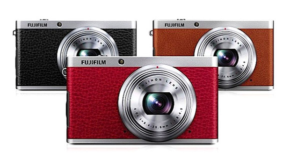 Fujifilm XF1 Black, Red and Brown