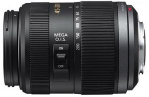 Panasonic 45-200 mm MFT lens