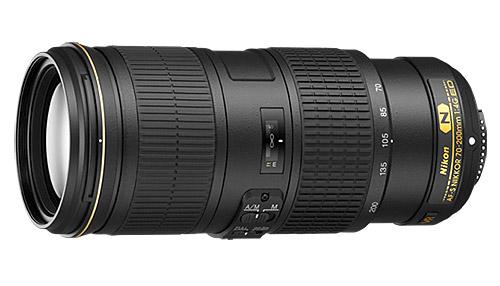 Nikon 70-200mm F4 G VR lens