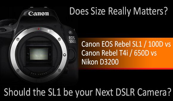 Canon EOS Rebel 100D SL1