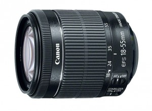 Canon 18-55mm STM IS lens