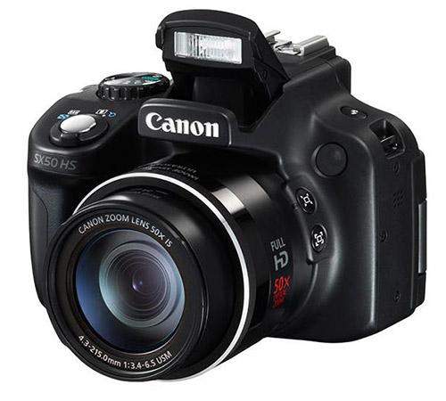Canon PowerShot SX50 HS camera
