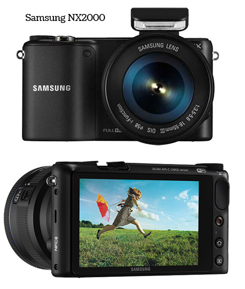 Samsung NX2000 Compact System Camera