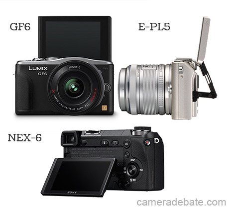 LCD Tilting mechanism, NEX-6, E-PL5 and GF6