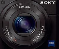 Carl Zeiss zoom lens, Sony RX100 II