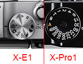 X-M1 vs X-Pro1 top wheel