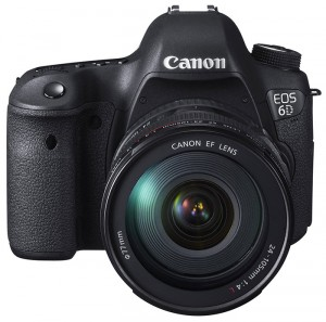 Canon EOS 6D with 24-105mm L lens