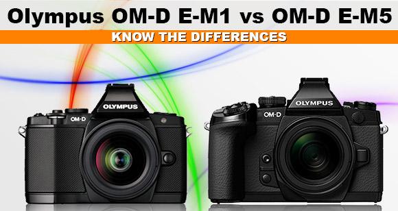 Olympus OM-D E-M5 vs OM-D E-M1