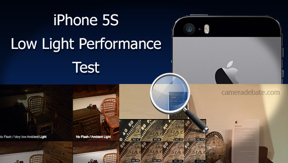 iPhone 5S low light performance test