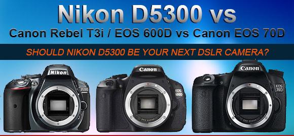 Nikon D5300 banner