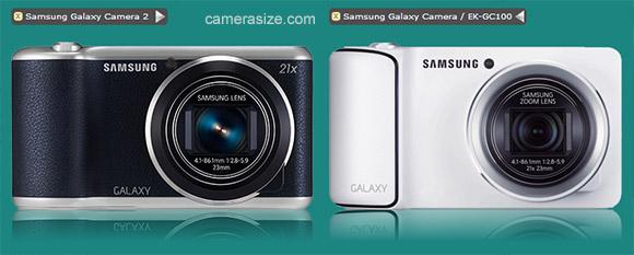 Samsung Galaxy Camera 2 and Galaxy Camera 1