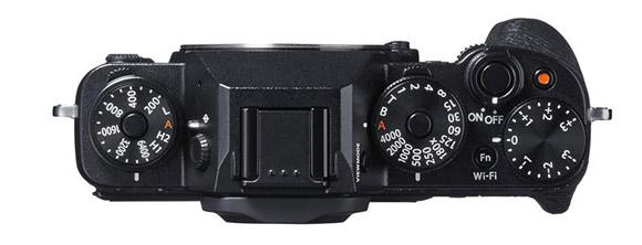 Fujifilm X-T1 camera top