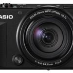 Casio Exilim EX-100 selfie camera