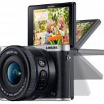 Samsung NX3000 selfie tilting screen