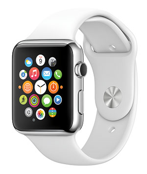 Apple Watch Sport White band