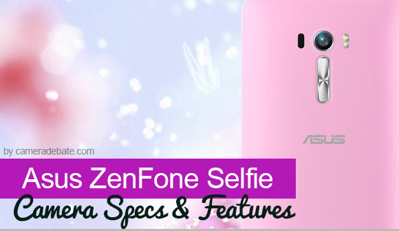 Asus ZenGone Selfie camera