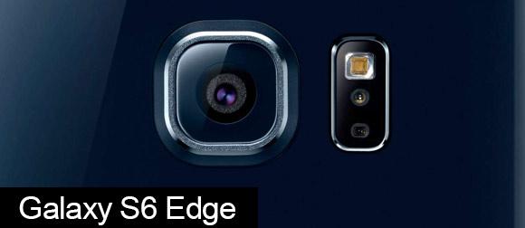 Galaxy S6 Edge rear facing camera