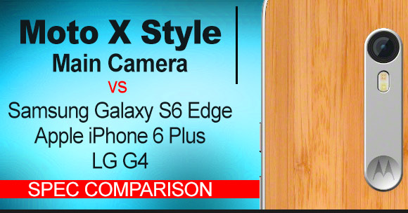 Moto X Style Pure Edition rear-facing camera