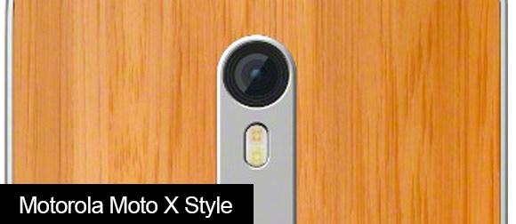 Motorola Moto X Style Rear facing camera