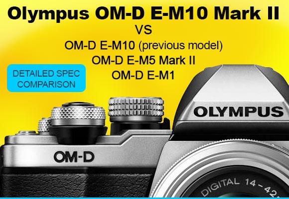 Olympus OM-D E-M10 II camera
