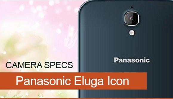 Panasonic Eluga Icon primary camera