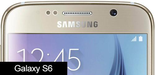 Samsung Galaxy S6 selfie camera