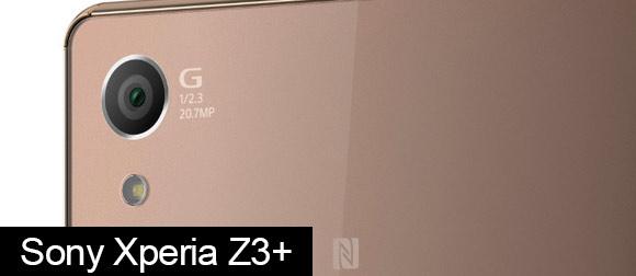 Xperia Z3+ rear facing camera