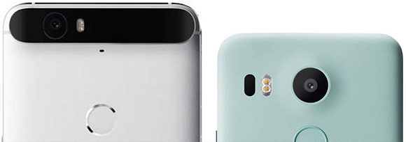 Nexus 6P and 5X rear Camera