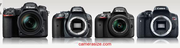 D500  vs D5300, D3300 and Canon Rebel T6i / 750D