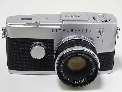 Olympus PEN F from 1963