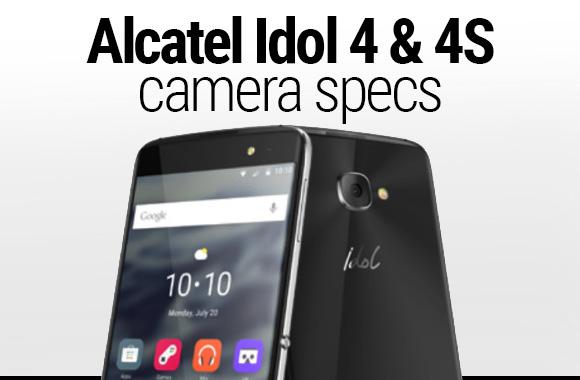 Alcatel Idol 4S smartphone rear camera
