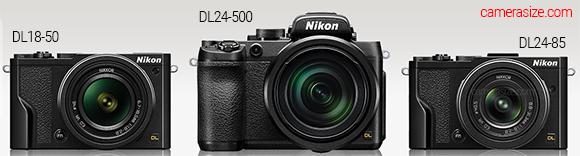 DL18-50, DL24-85 and DL24-500 Nikon cameras