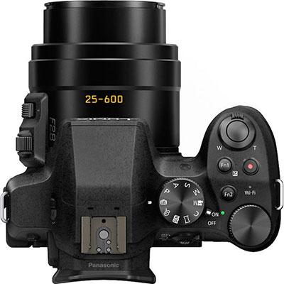 Panasonic FZ300 camera top view